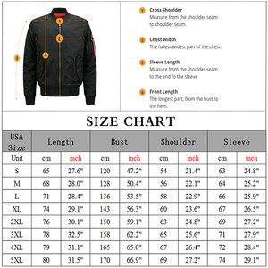 Image 2 - Chaqueta de uniforme de seguridad para hombre, chaqueta de vuelo cálida con cremallera, abrigo grueso de invierno, prendas de vestir, talla de EE. UU.