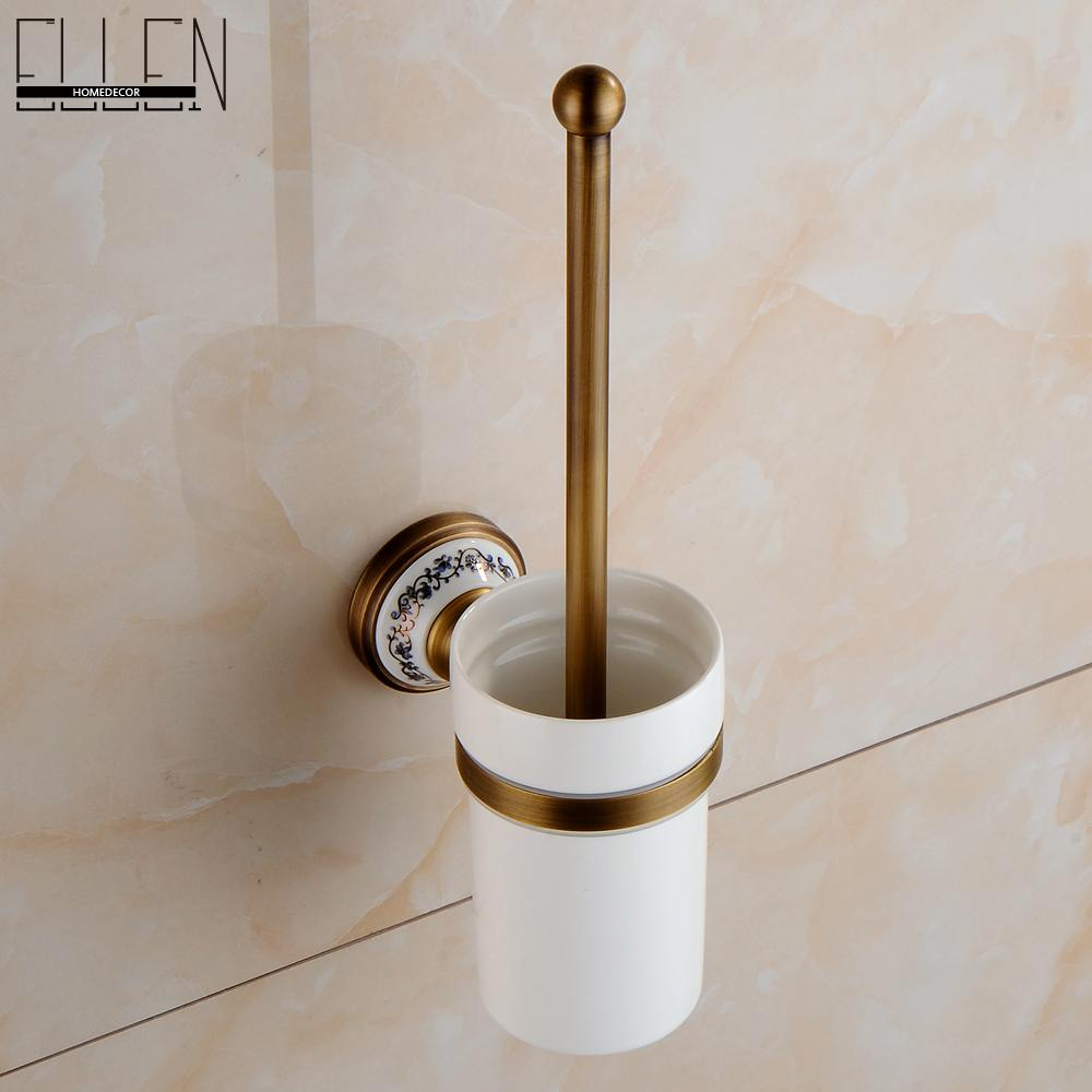 Bathroom accessories wall mounted toilet paper holder antique bronze ...