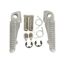Motorcycle Front Footrest Foot Pegs For Kawasaki ZX6R ER6N ER6F NINJA 650R EX650 EX250 ZX10R Z1000SX ZX-11 ZZR1100