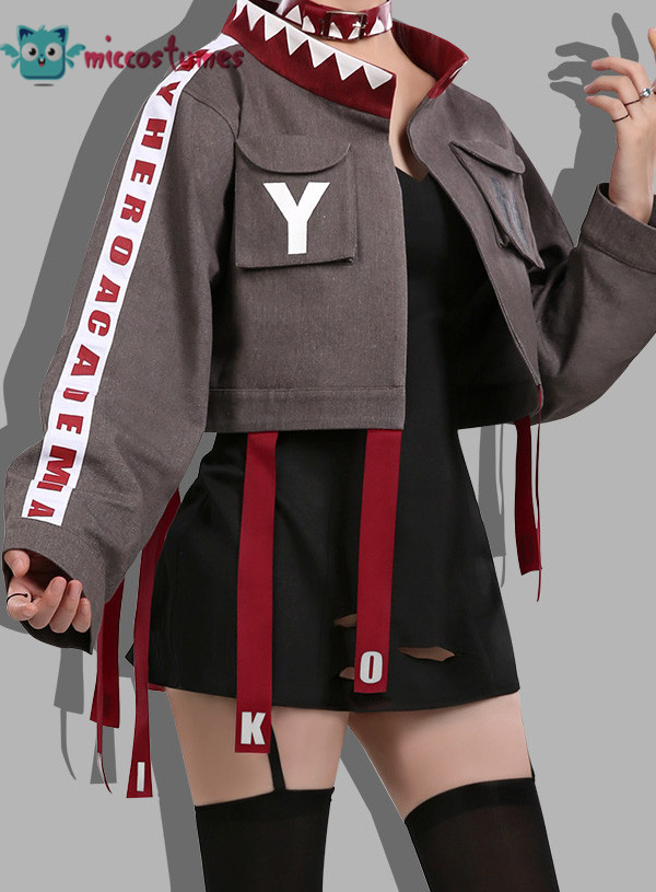 My Hero Academia Toga Himiko Hero Magazine Daily Fashion Uniform Cosplay Costume