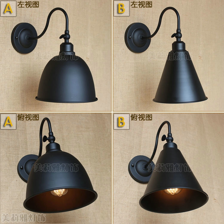 Iwhd Antique Edison Water Pipe Wall Lamp Vintage Loft Style Industrial Wall Lights Fixtures Led Stair Light Appliques Murale Led Lamps