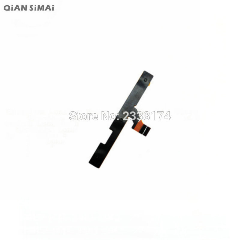 QiAN SiMAi For xiaomi hongmi redmi note 4G New Power on/off+Volume up/down Switch Button Flex Cable Repair Parts