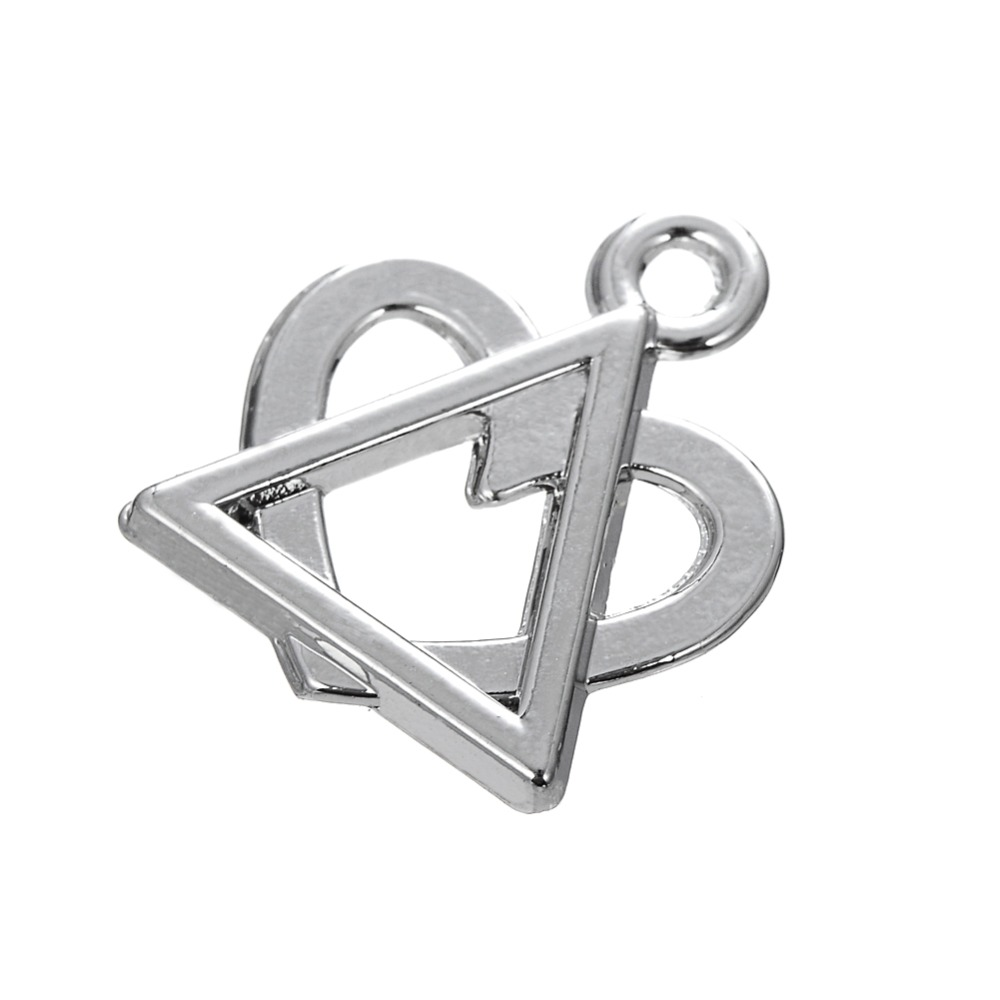 Fishhook 20pcs a lot eco friendly zinc alloy rhodium plated fishhook 20pcs a lot eco friendly zinc alloy rhodium plated adoptionfoster care symbol heart triangle charms in charms from jewelry accessories on buycottarizona Image collections