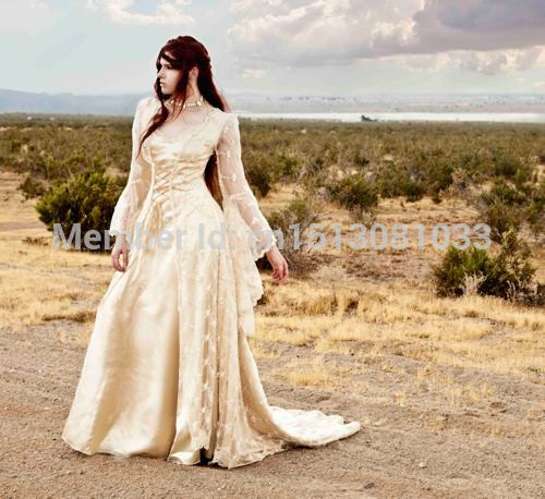 Custom Beaded Sparkle Lace Fairy Medieval Romantic Lace Gown