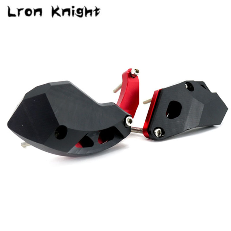 For KAWASAKI ZX 10R ZX10R ZX 10R 2011 2012 2013 2014 Motorcycle CNC Engine Crash Guard