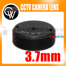 5pcs/lot High Quality 3.7mm lens Plane Lens CCTV Board Lens For CCTV Security Camera