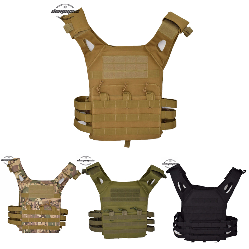 Outdoor Hunting Vest Amphibious Multi Pockets Military Plate Carrier Tactical Vest Airsoft Paintball Combat Molle Tactical Vest