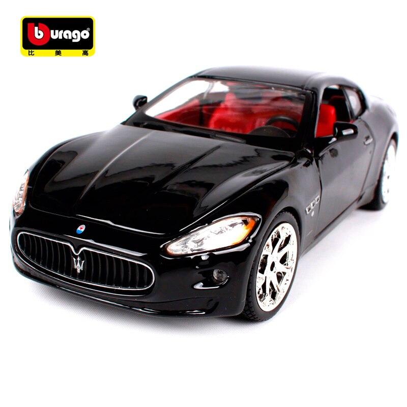 Bburago 1:24 Maserati GT Gran Turismo Diecast Model Car Toy New In Box Free Shipping 22107Bburago 1:24 Maserati GT Gran Turismo Diecast Model Car Toy New In Box Free Shipping 22107