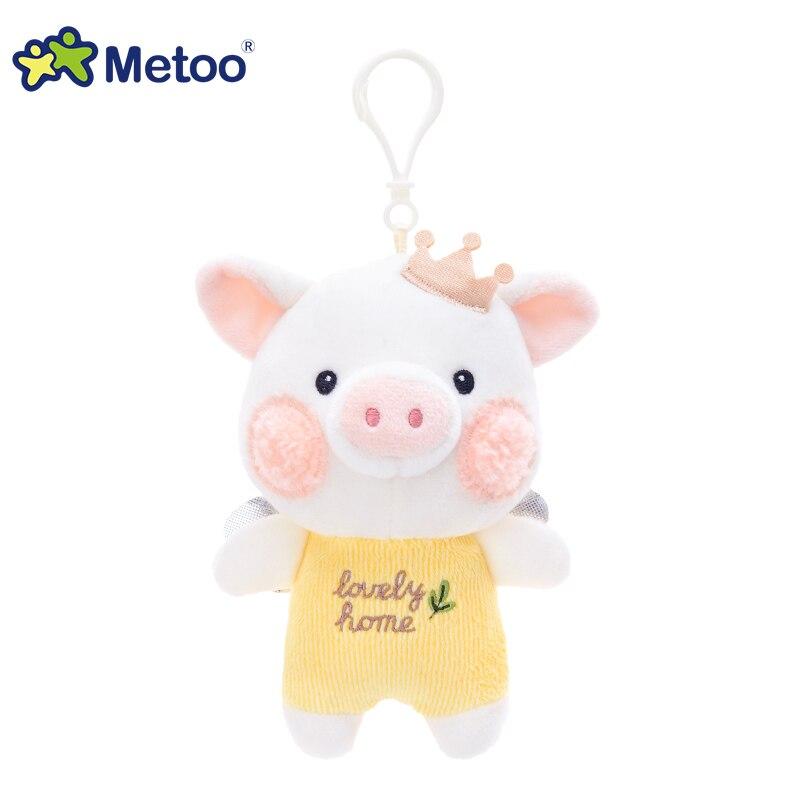 元气猪宝吊饰-天使黄