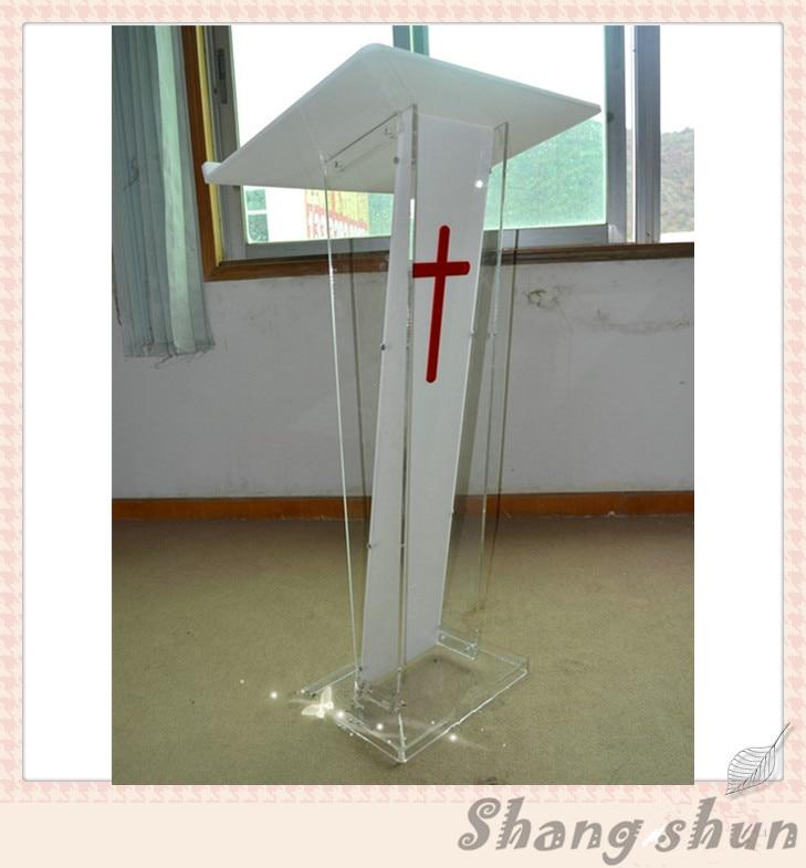 Acrylic Podium Products White Acrylic Lectern Podium Acrylic Podium Pulpit Lectern Plexiglass Church Podium