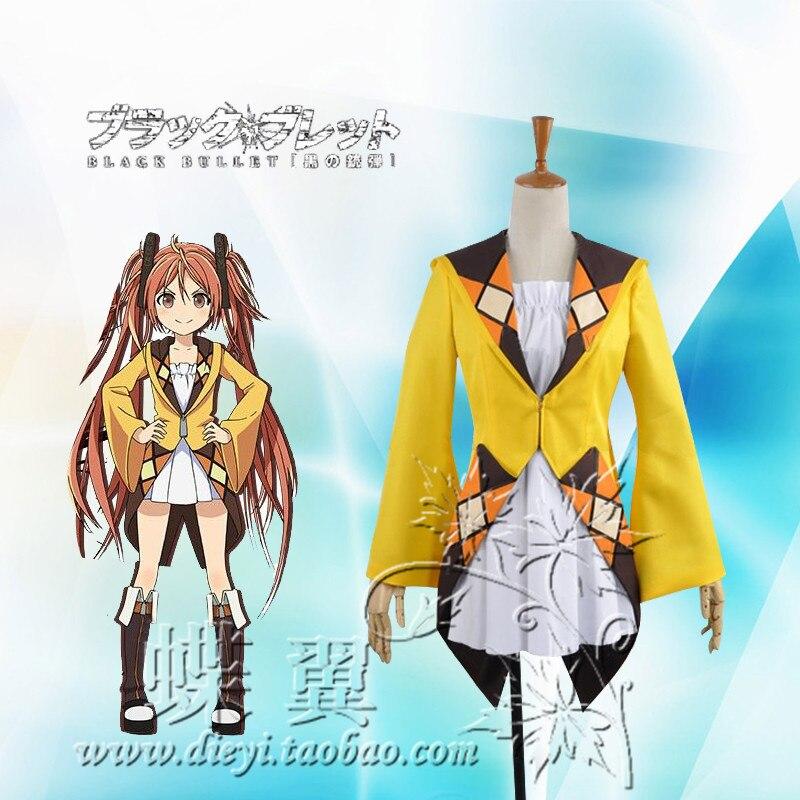 Free Shipping font b Anime b font Black Bullet Aihara Enju font b Cosplay b font