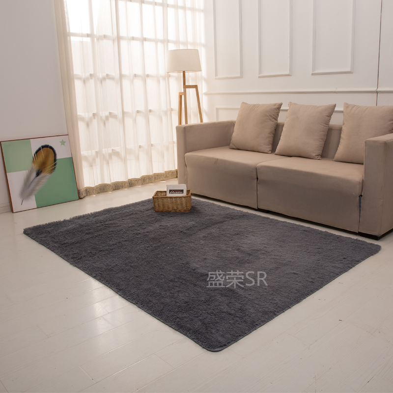 sr solid color soft plush fabric carpet and rug for home living room carpets floor rugs absorbent door mat non slip baths mats