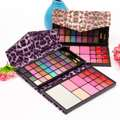 Pro 32Colors Makeup Eyeshadow Palette Blush Lip Gloss Kit With Mirror Brushes Box Cosmetic Set Beauty Tools Hot Sale