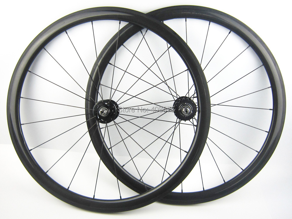 single speed bike wheel carbon fiber bicycle wheel 700C 38mm clincher fixed gear clincher or tubular track wheel Flipflop hub 700c single speed 50mm carbon track wheels for track bike carbon bicycle wheel fixed gear hub novatec 165 166 track 23mm tubular
