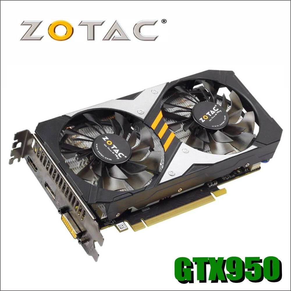 Gamerock Premium Edition tarjeta de Video GeForce GTX950 2GD5 128Bit GDDR5 tarjetas gráficas nVIDIA mapa GTX 950 2G devastadoras Hdmi Dvi gtx960 750 750ti