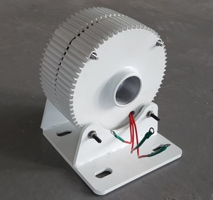 Image 2 - Small Three Phase 400W Permanent Magnet Generator 12V 24V 48V Alternator PMG With DC Controller