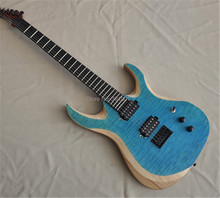 New Arrival 6strings Blackmachine Good finish All black hardware  Blue guitars Free shipping manufacturers wholesale all kinds of best lp guitars can be customized ems free shipping