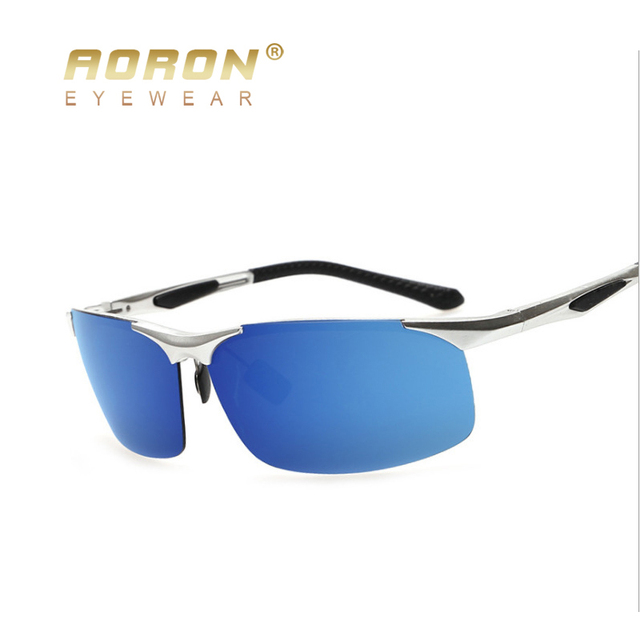 AORON Mens Brand Polarized Sunglasses Outdoor Sports Glasses Driver Driving Goggles oculos Male Eyewear Accessories 8132