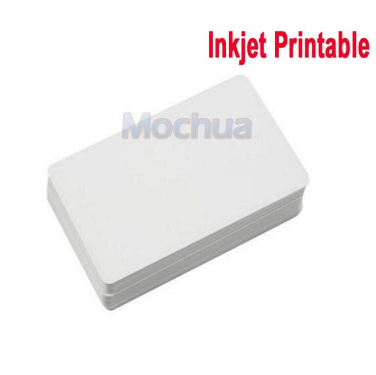 13.56MHz 1444A 1K Bytes Memory Inkjet Printable Card For Espon Printer, Canon Printer