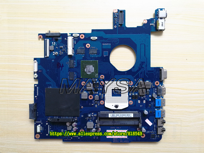original system board fit for Samsung NP550 NP550P5C motherboard BA92-10614A BA41-01898A GT630m DDR3 100% test fast ship