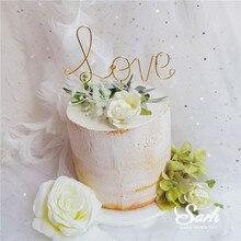 Железные украшения для торта в форме сердца, венок, украшение, луна, звезда, День Святого Валентина, вечерние украшения для выпечки, милые подарки
