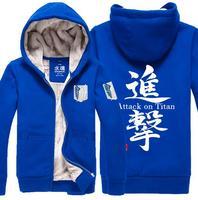 Yeni Titan Hoodie Anketi Kolordu Hoodies Ceket Erkekler ve kadınlar Kış Coat kalın peluş Ceket Yüksek kalite Kazak