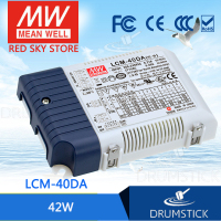 Special Deal MEAN WELL LCM 40DA 80V 500mA meanwell LCM 40DA 80V 42W Multiple Stage Output Current LED Power Supply
