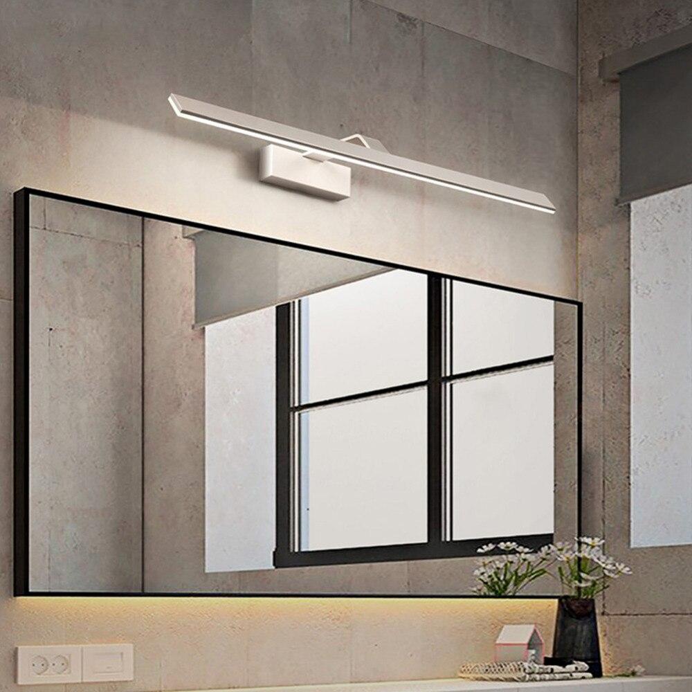 LED Wall Lamp Wall light 6W 8W LED Mirror Front Wall Lights dresser Modern waterproof Bathroom Dresser lamp цена
