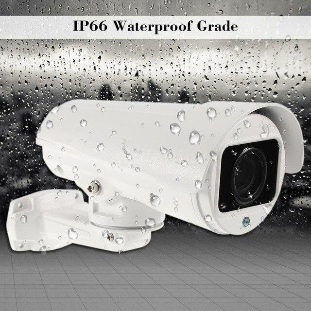PTZ كاميرا IP 5MP سوبر HD عموم/إمالة 10x زووم بصري كاميرا الأمن في الهواء الطلق