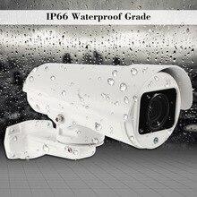 Telecamera IP PTZ 5MP Super HD Pan/Tilt 10x Zoom ottico telecamera di sicurezza esterna