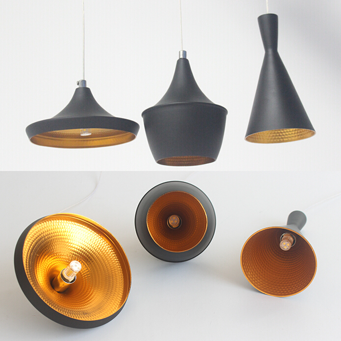 Mini pendant lights small black ABC pendant lamp G9 interface Free shipping