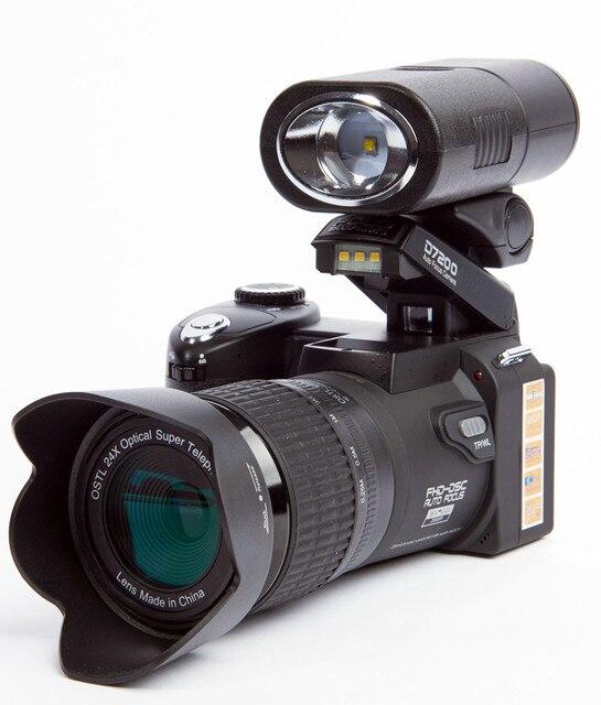 Обновленная профессиональная цифровая камера Protax POLO SLR D7200 13 мегапикселей HD со сменным объективом