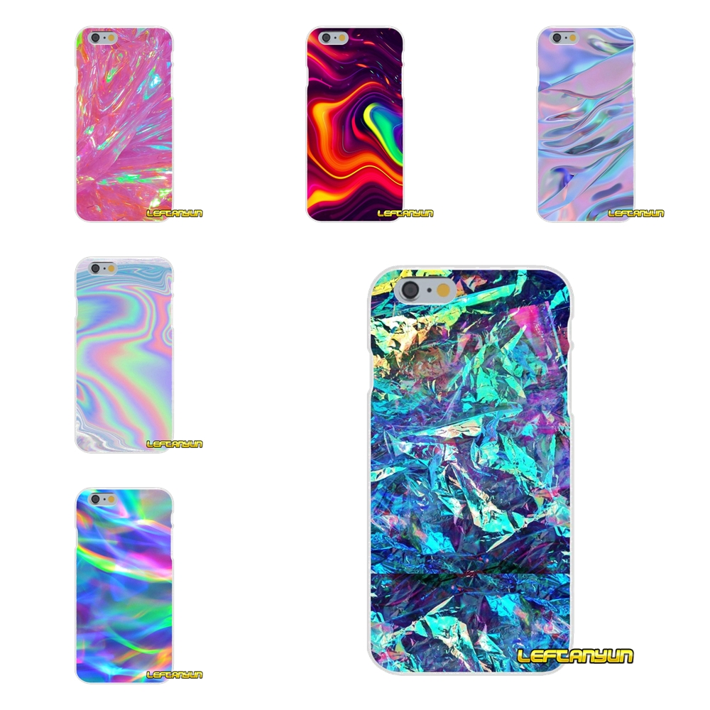 Luxury Iridescent Holographic Art Soft Silicone phone Case For Samsung Galaxy A3 A5 A7 J1 J2 J3 J5 J7 2015 2016 2017