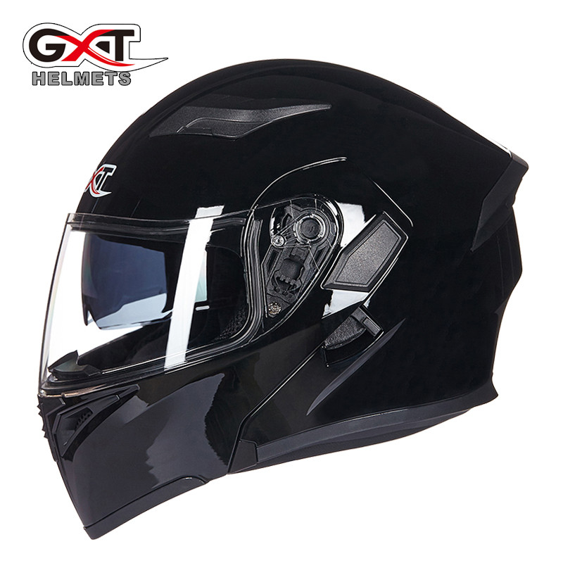 High Quality Flip Up Racing Helmet Modular Dual lens Motorcycle Helmet full face Safe helmets Casco capacete casque moto M L XL 2