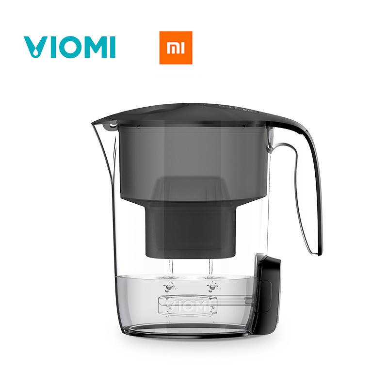 2017 New Original Xiaomi VIOMi Filter kettle Water Purifier Drinking Water produce Filters Healthy clean device UV sterilization dmwd 2 5l 4 layers home water purifier water filter kettle healthy drinking water maker filter jug with 2pcs core