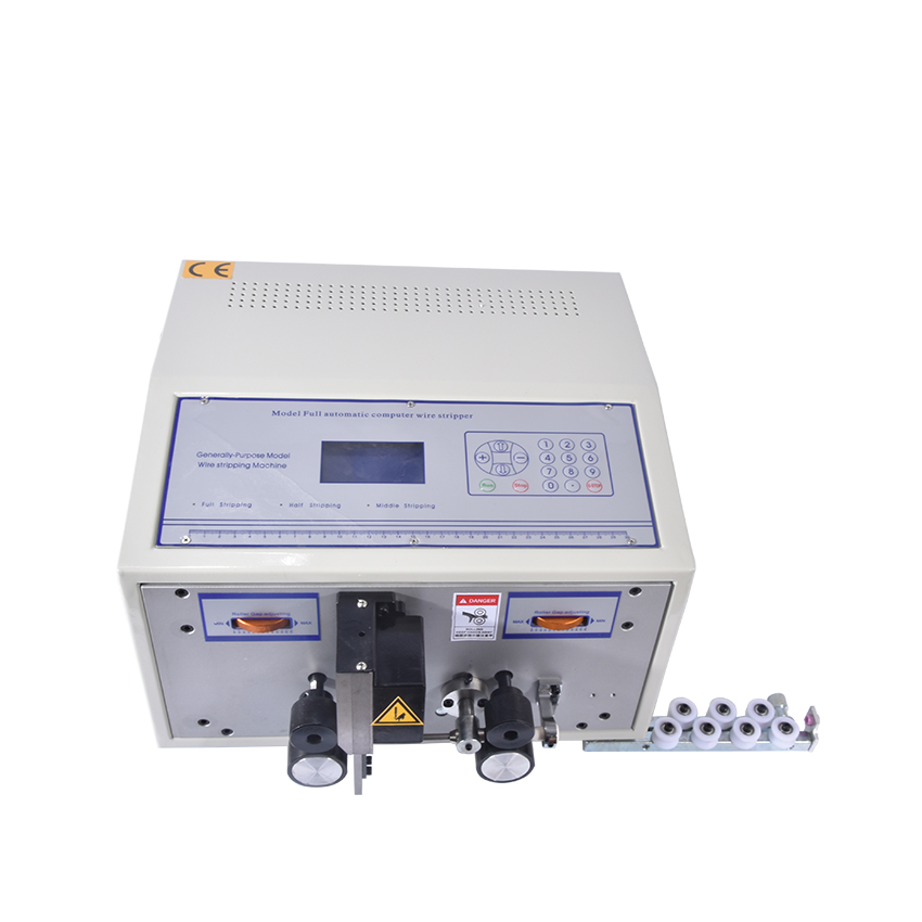 1pc Computer Automatic Wire Stripping Machine, Wire Cutting Machine, Wire Cutting & Stripping Machine SWT508C  swt508c ii automatic wire stripping aachine model swt508d 110 220v two wheel drive