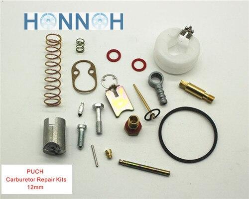 12mm Kits de Reparo do CARBURADOR da motocicleta Do Carburador BING PUCH junta reparação Kit de reparo do Carburador Carburador Universal 12 MM bing