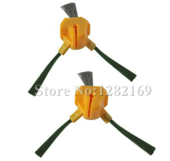 2 pieces/lot Replacement 3 Arm Side Brush for ECOVACS NECCHI DEEPOO DEEBOT D54 D68 D77 VACUUM CLEANER 3 arm side brush