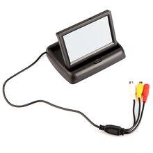 4.3 Inch Цветной tft LCD Монитора Автомобиля Обратный Монитор Заднего Вида для Камеры DVD VCR Автомобилей Заднего вида дисплей