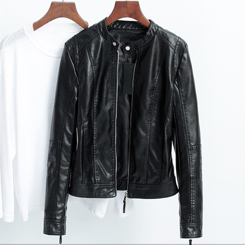 Online Get Cheap Leather Bomber Jacket Womens -Aliexpress.com ...