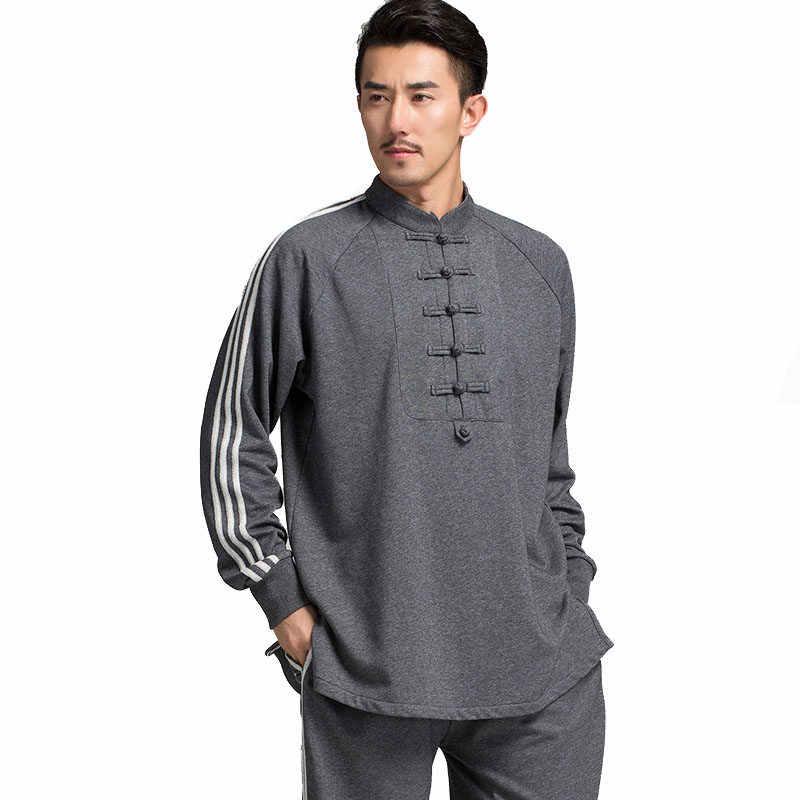 Gli Uomini di Cotone caldo Tai chi abbigliamento Taijiquan Abiti vestiti di Wushu Kung Fu Tai Chi Uniforme