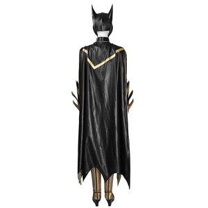 Image 2 - MANLUYUNXIAO, Новое поступление, женский костюм, костюм Бэтгерл, карнавальный костюм на Хэллоуин, костюм Бэтгерл для женщин, на заказ, базовый женский костюм