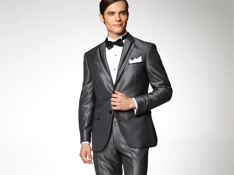 Online Buy Wholesale shiny grey suits for men from China shiny ...