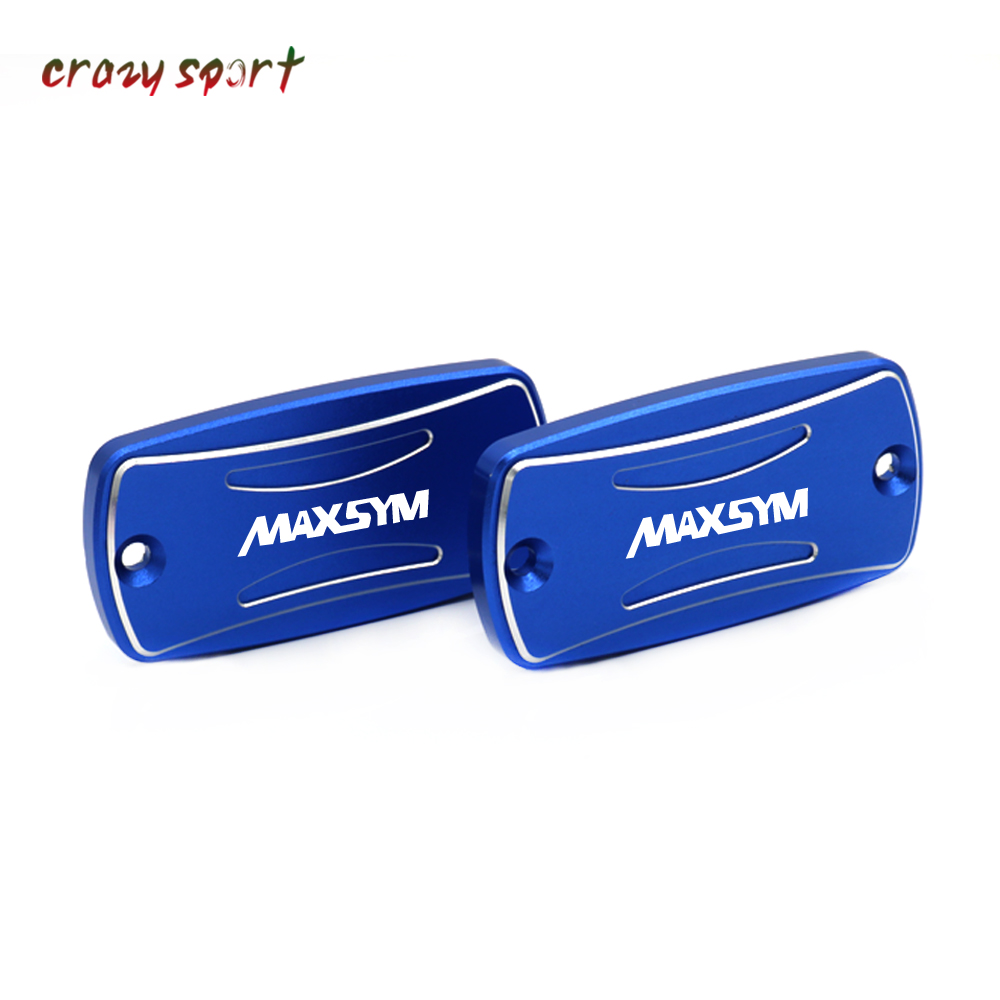 Front Brake Clutch Cylinder Fluid Reservoir Cover Cap For <font><b>SYM</b></font> <font><b>MAXSYM</b></font> 400 <font><b>400i</b></font> 600 600i all years Motorcycle Accessories image