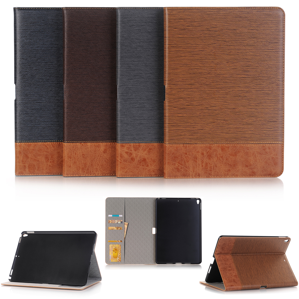 New 2017 High quality PU leather Case For iPad Pro 10.5 inch tablet stand Cover + Film + Stylus case cover for goclever quantum 1010 lite 10 1 inch universal pu leather for new ipad 9 7 2017 cases center film pen kf492a