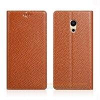 Invisible Magnet Genuine Leather Case For Meizu PRO 5 Pro5 5 7 Pro 6 Pro6 5