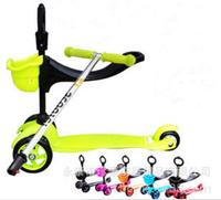 Wholesale Multifunctional three in one scooter Flash Foot Scooters Kick Scooters