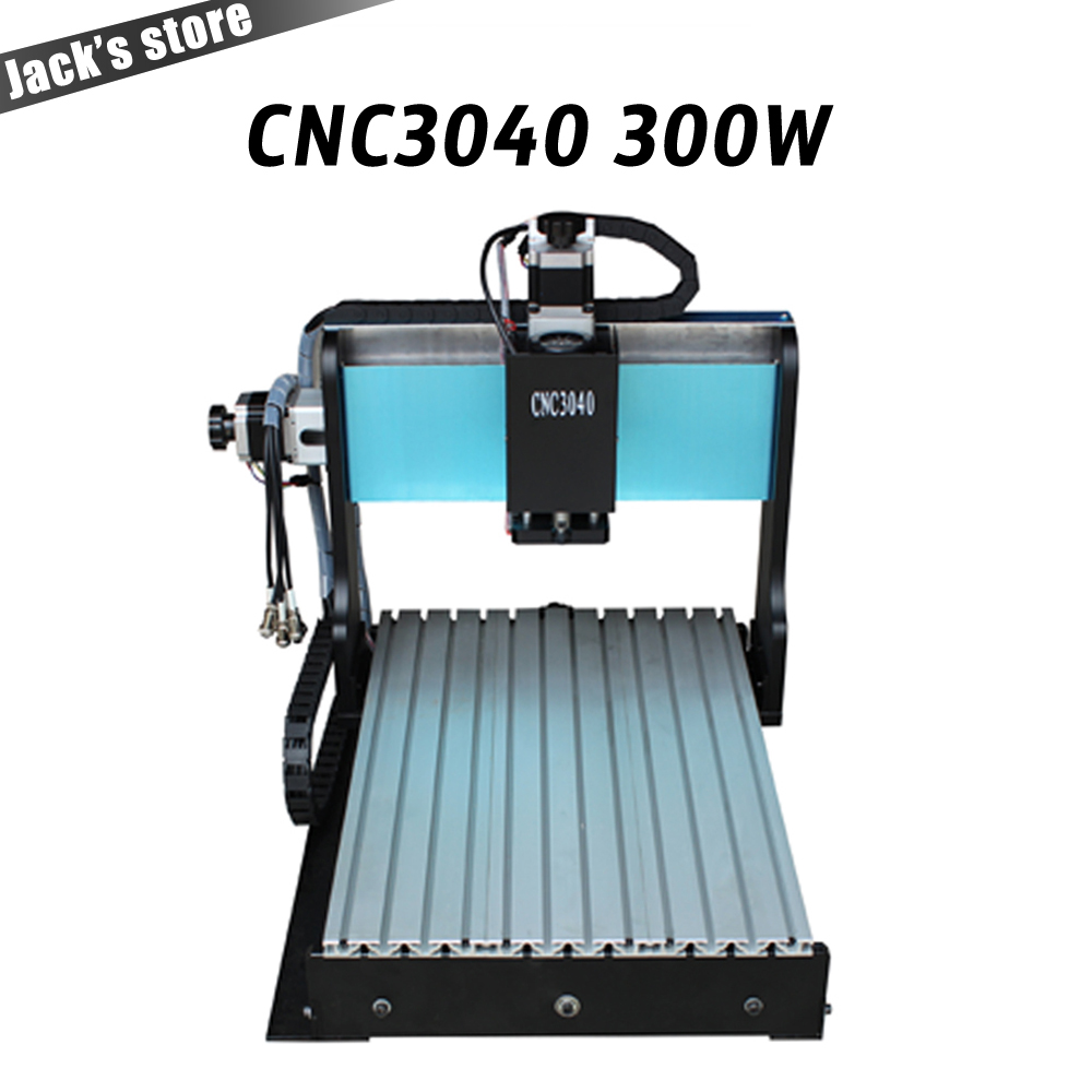 3040Z-DQ+, CNC3040 300W cnc router wood PCB engraving machine milling carving machine CNC 3040 cnc machine 4axis cnc router 3040z vfd800w engraving machine cnc carving machine cnc frame assembled