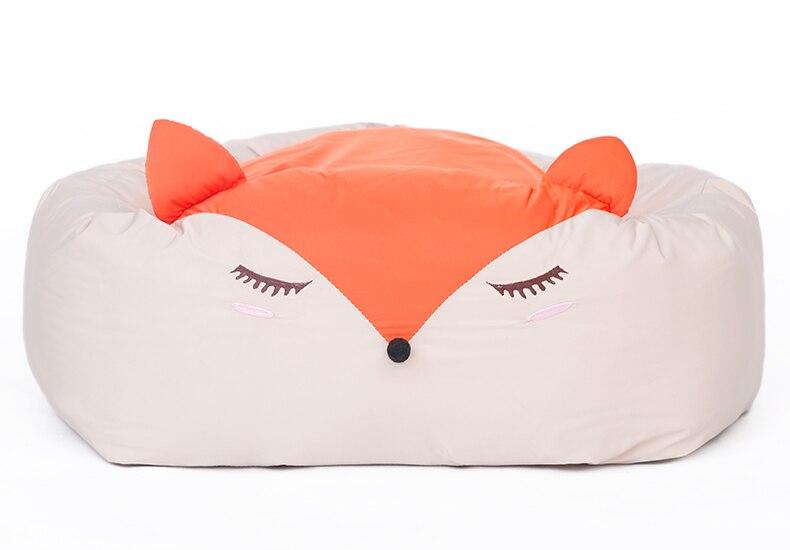 Bande dessinée drôle petit animal de compagnie chien chat canapé lit maison chenils hiver chaud doux chien chiot chihuahua lit tapis nid coussin matelas