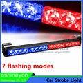 12 V 16 W COB Carro Luzes De Emergência Led Flash luz de Advertência Da Polícia Poder Do Hight luz Flasher Strobe Light Bombeiro Amarelo Azul Âmbar vermelho